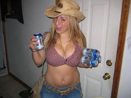 Drunk ex big tits